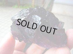 画像2: 【クリアランス価格30%OFF 18,000円→12,600円】イリノイ州産ブラックパープルフローライト原石156.8g