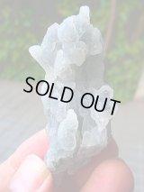 インド産カルセドニー&ドゥルージ水晶原石54.4g