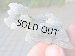 画像2: インド産カルセドニー&ドゥルージ水晶原石54.4g