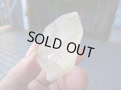 画像1: ブラジル産サルファー(硫黄)入りナチュラルレモン水晶42.5g