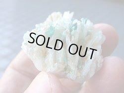 画像2: ブルートルマリン付き水晶原石44.0g