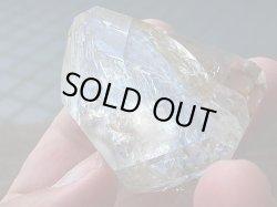 画像2: ニューヨーク・ハーキマー鉱山産レインボー・エレスチャル水晶原石92.1g