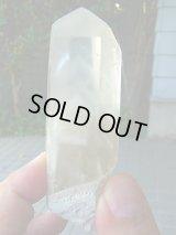 ホワイトファントム(ブーブーガ)水晶ポイント120.0g
