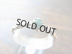 画像1: グランディディエライトPt900枠ダイヤモンド付きリング#12