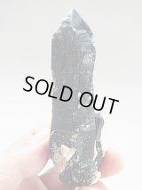 チベット産セルフヒールド型DTモリオン水晶ポイント108.1g