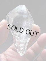 スカルドゥ産板状結晶型セプター・クリア水晶ポイント47.2g