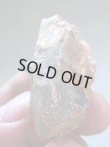 ベトナム産貫入り型アクアマリン付き水晶原石37.4g