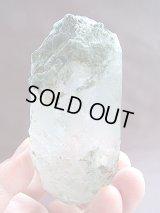 スカルドゥ産セルフヒールド型グリーン水晶395.9g