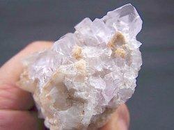 画像2: スペイン・アストゥリアス産水晶&カラーレスフローライト原石106.0g